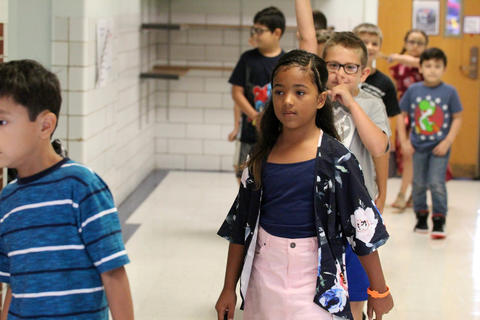 Elmwood first day of school, Aug. 14, 2019