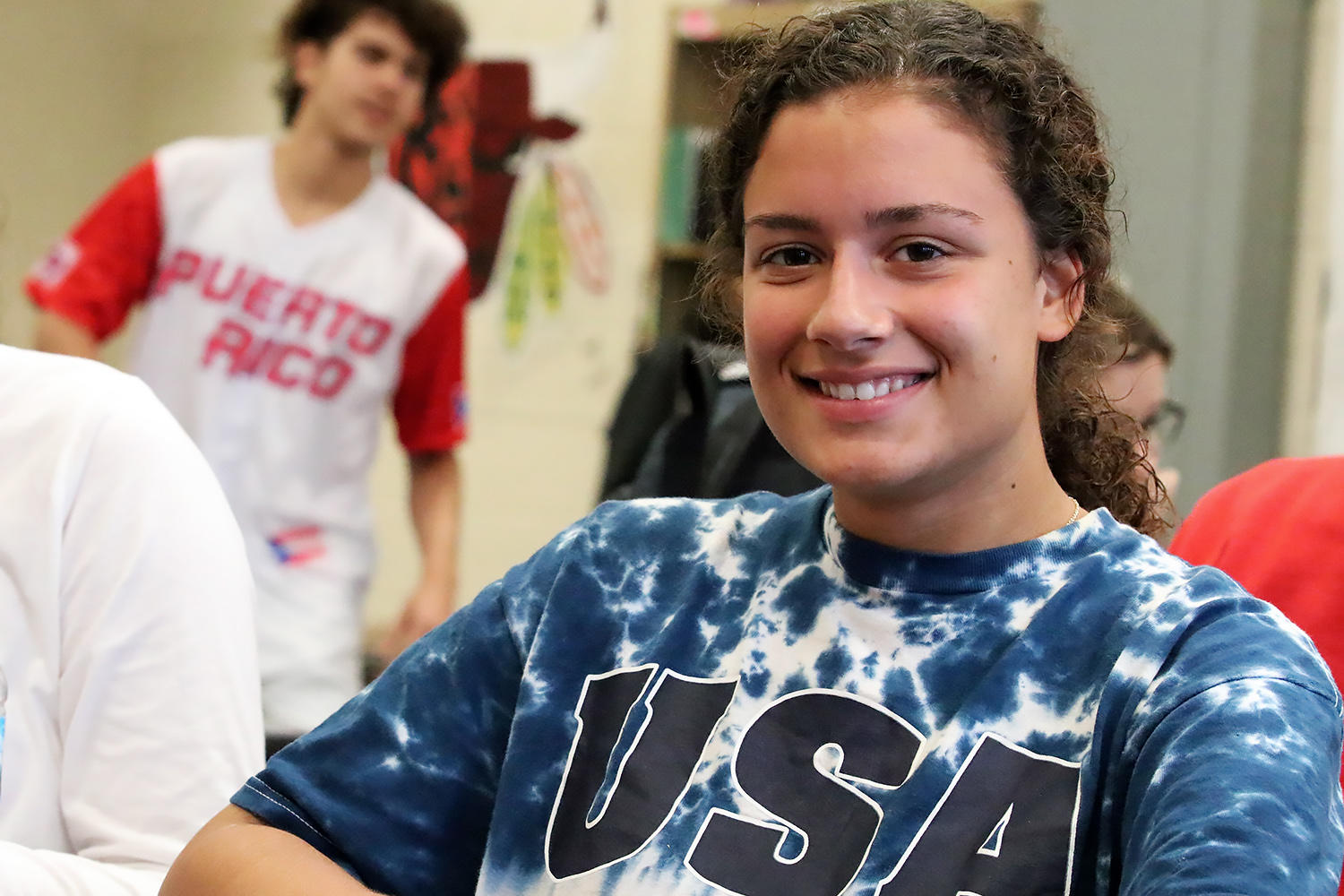 EPHS student wears red, white and blue for 'Merica Day.