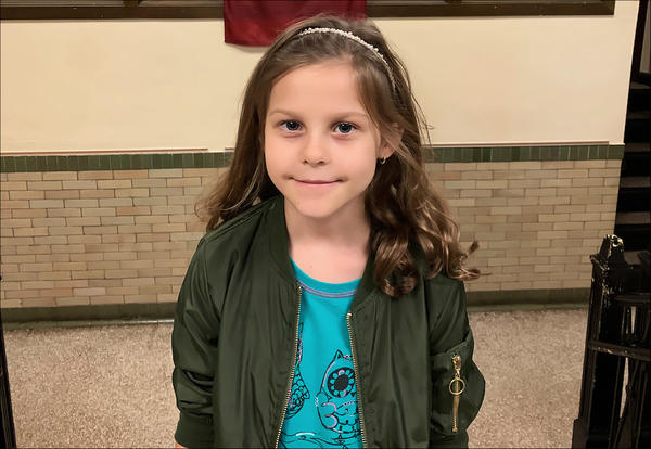 Alicja Rusek logged more than six hours and over 700 pages during September to become one of the top five readers in the Blackhawks' reading program.