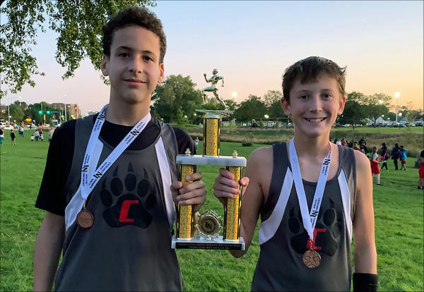 Elm Boys Cross Country Team Finishes Second at Conference Meet