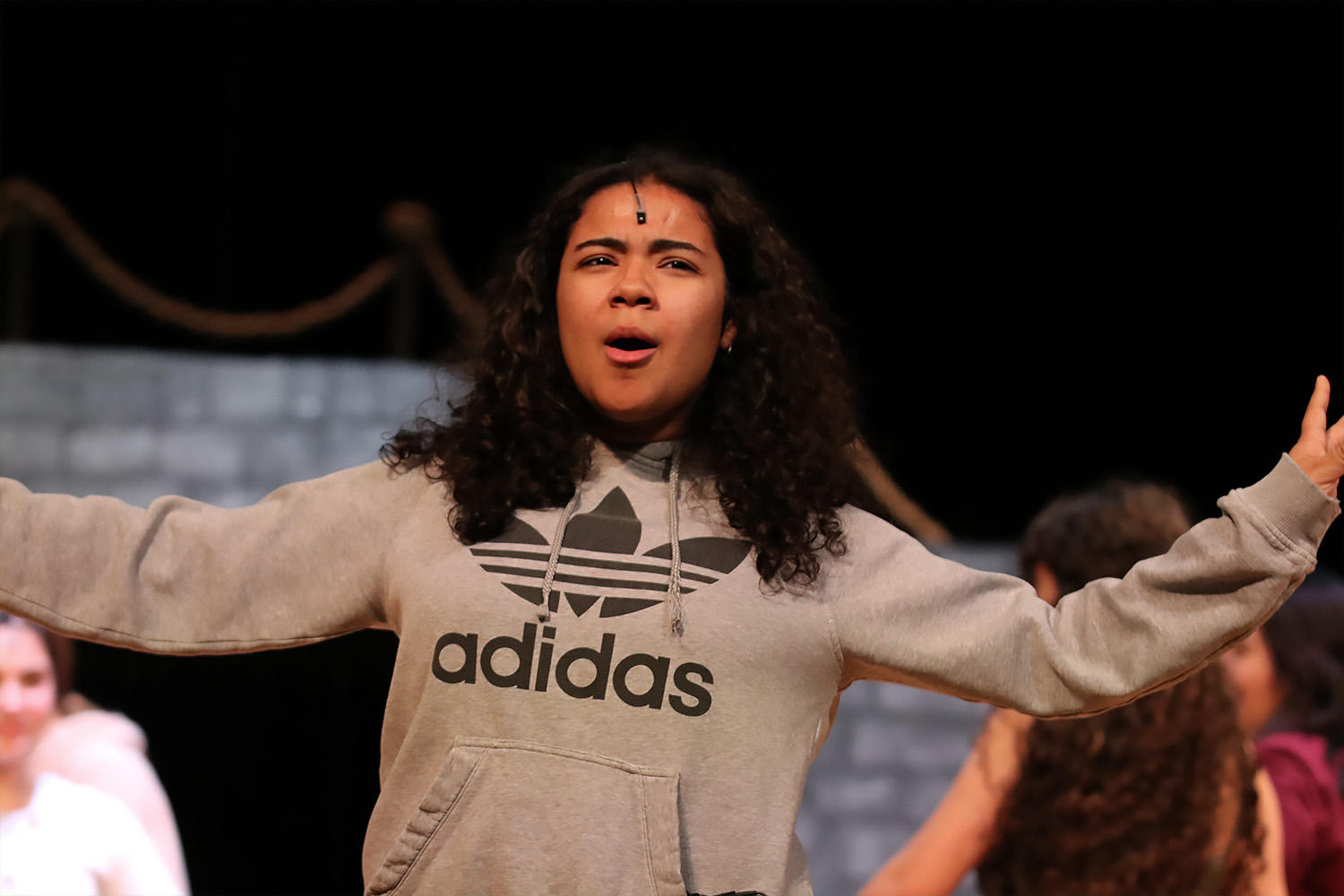Freshman Alanis Rivera will make her EPHS debut in the role of Asaka.