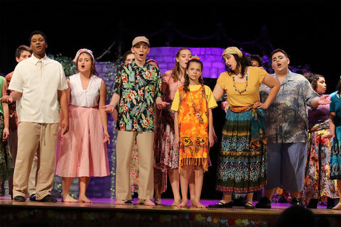 "EPHS students perform the 2019 fall musical, ""Once on This Island"""