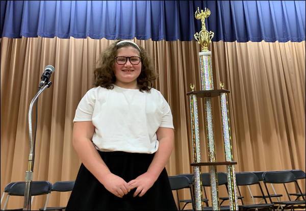 Elmwood students wins District Spelling Bee