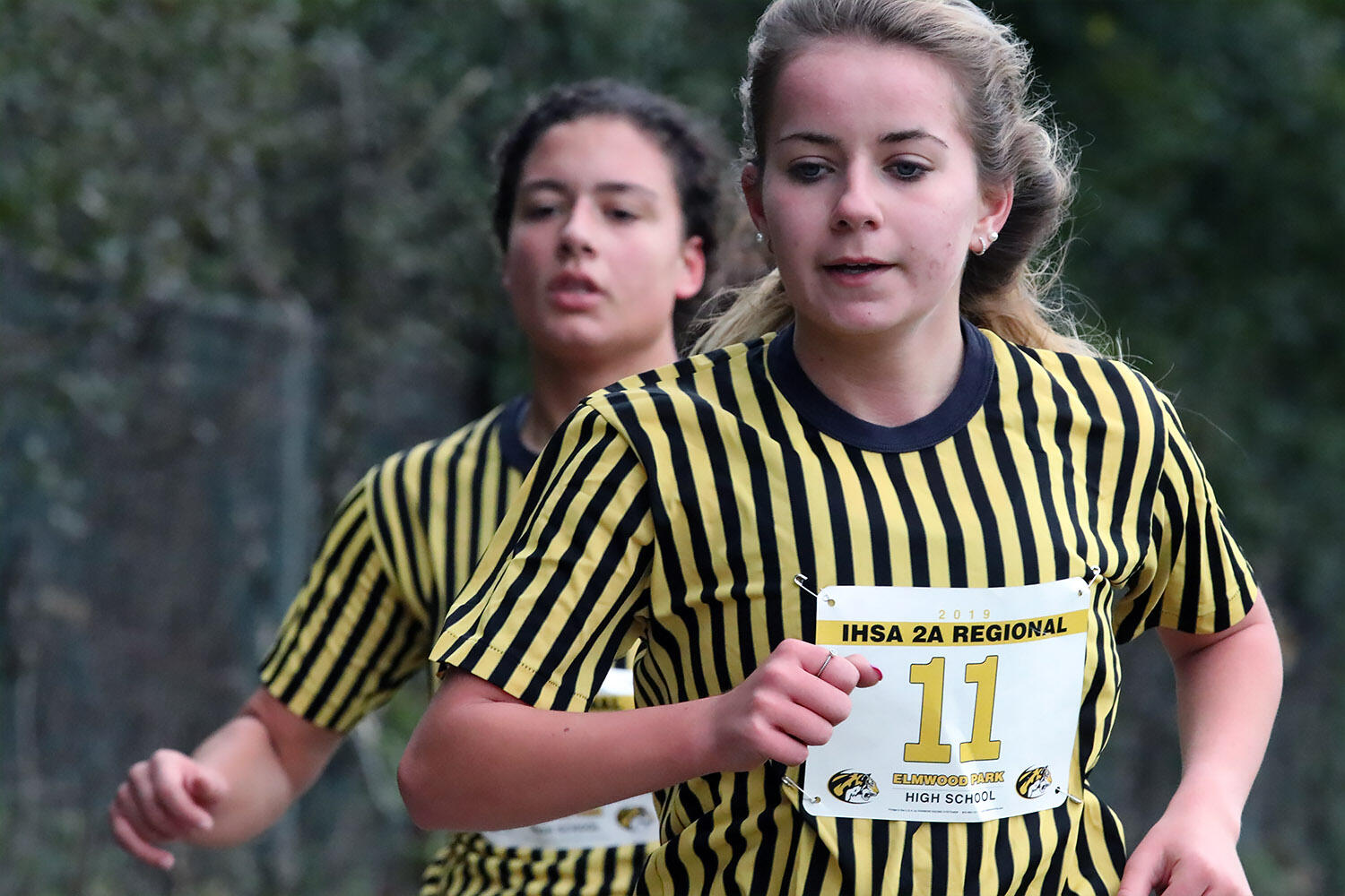 Gabi Szado competes in cross country.