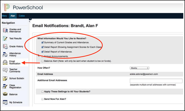 Powerschool Screenshot4
