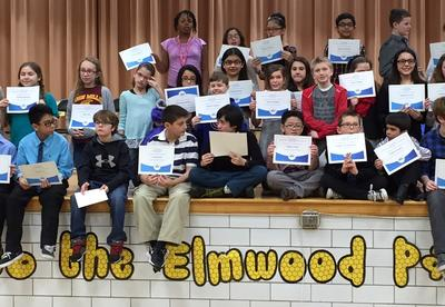 Students ready for Spelling Bee