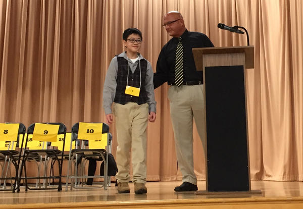 Elmwood, Mills Students Excel at District Spelling Bee