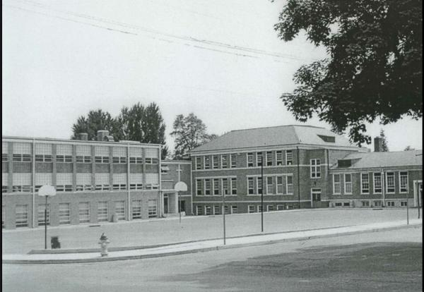 1955 - Father Heller Builds The Primary Wing