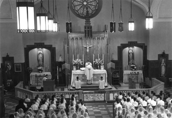 EARLY 1970s- A Vatican II Story With Father Heller