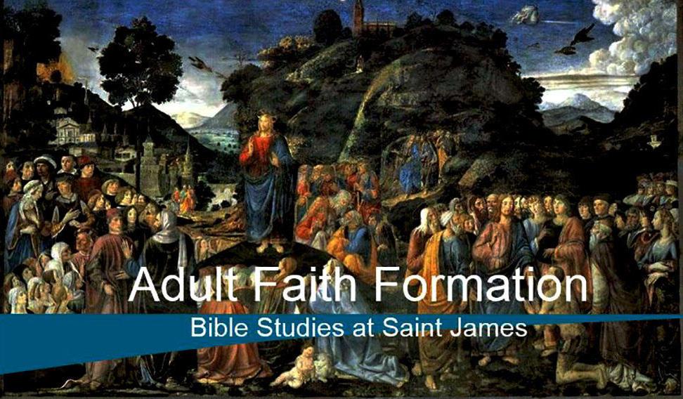 Scripture Study   Parish Ministries