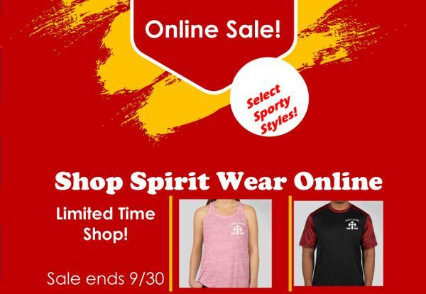 Spirit Wear Online Sale