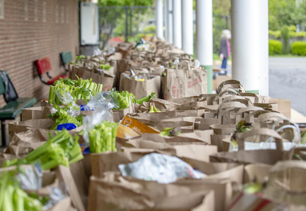Saint James Food Distribution In Need of Donations for October