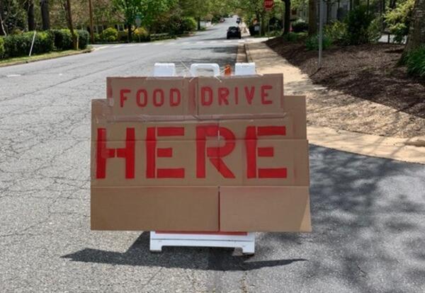 Pop & Go, Drive-Thru Food Drive - May 30