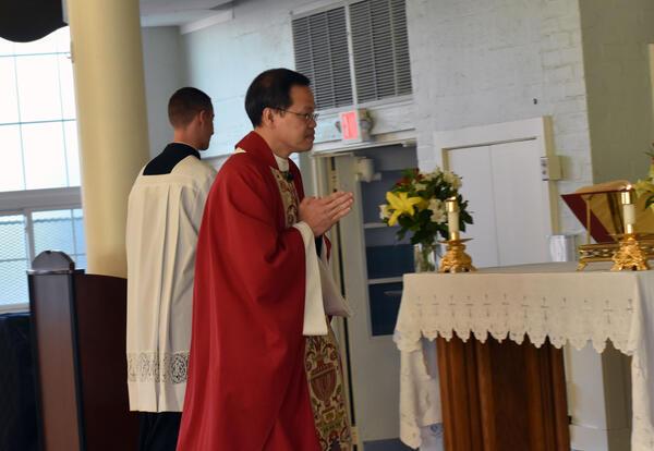 Public Masses Return to Saint James On Pentecost Sunday