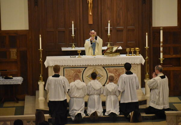 There Will be a Noon Mass on July 4