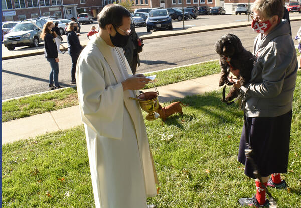 Photos from our Blessing of Pets Service