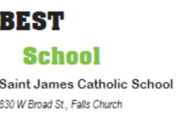 "Saint James School Voted ""Best School in Falls Church"""