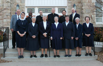 Priests and Sisters of St. James, circa 2015