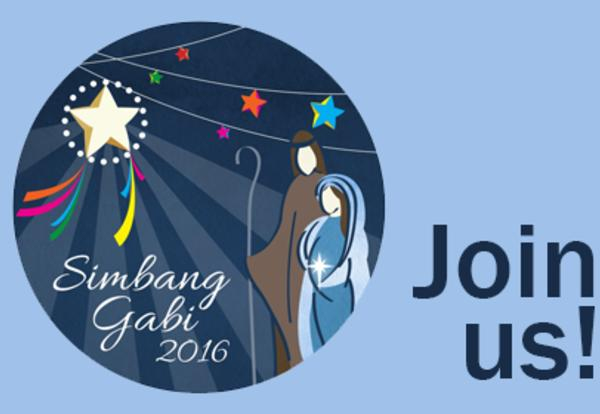 Simbang Gabi Mass - Wednesday, December 21 at 7:30pm