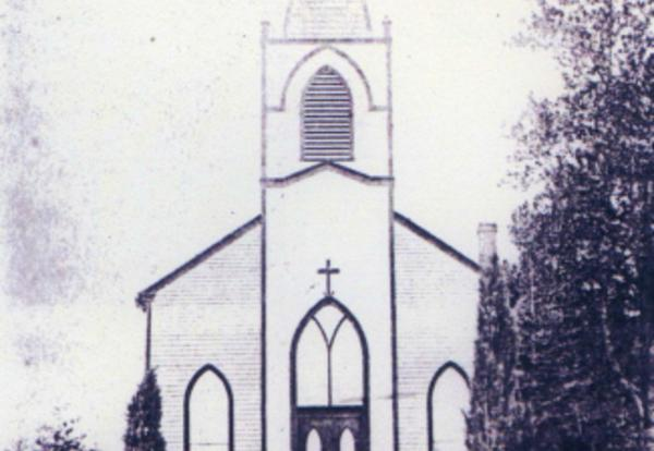 1874 – St. James Mission and the Frame Church