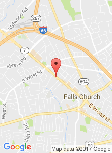 Static Map of 830 West Broad Street Falls Church, VA