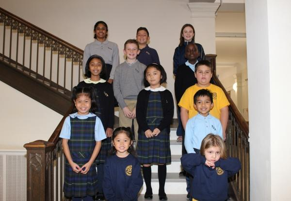 Lower School at the Academy of Notre Dame Participates in Readathon