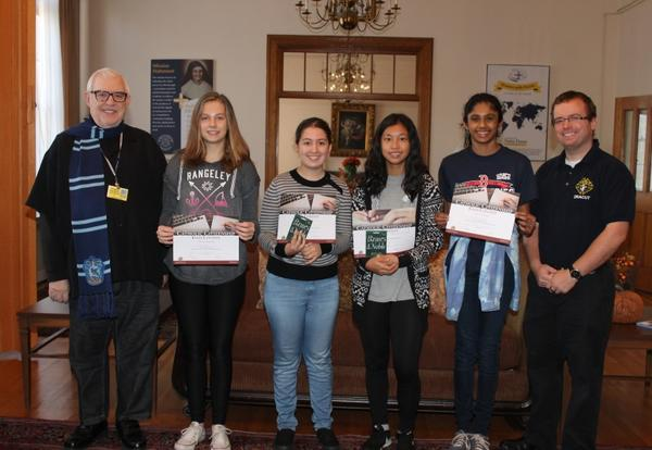 Academy Students Awarded for Essay Contest