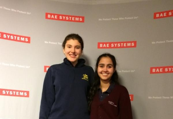 Academy Students Explore Technical Careers at BAE Systems