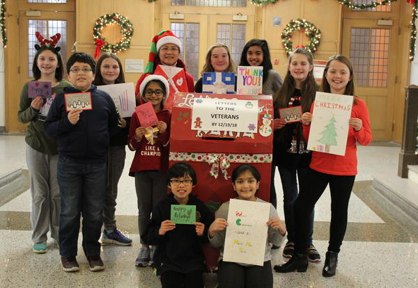 Academy Students Create Holiday Cheer for Veterans