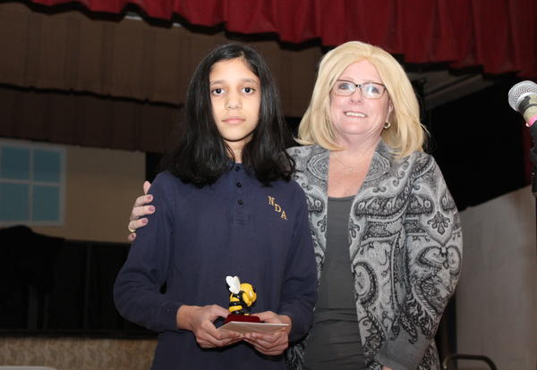 Academy Students Compete in Spelling Bee