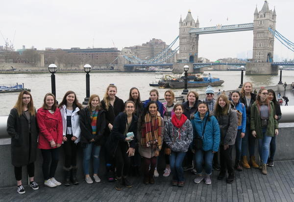 Academy Students Travel Abroad