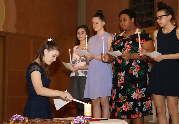Academy Students Inducted into National Honor Societies