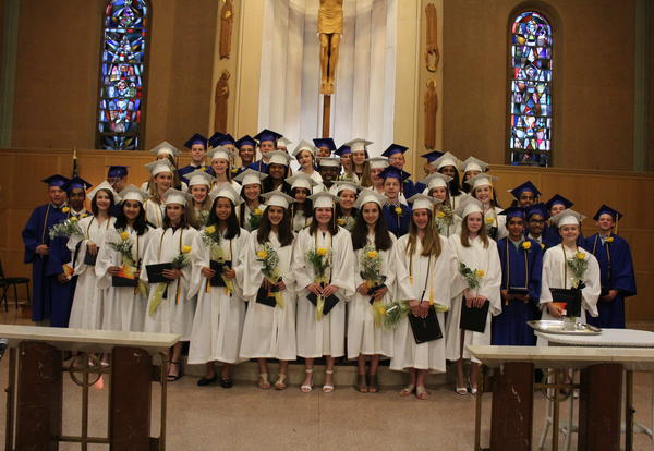 Academy Celebrates Middle School Graduation