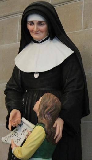Nun and child
