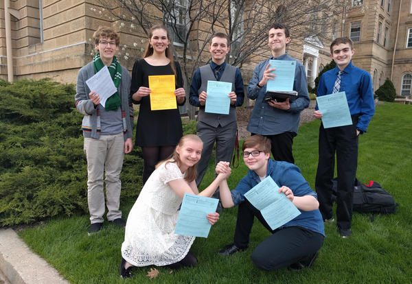 Seven Medals at State for KHS Forensics Team!
