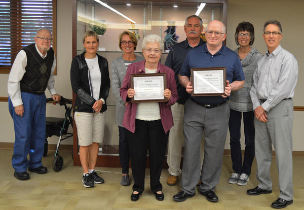 Dorothy Dietzen and Mark Kaufman Recognized for Child Advocacy