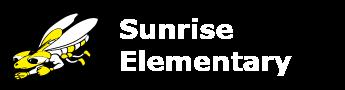Stinger bee logo for Sunrise Elementary