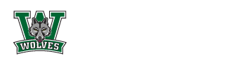 Wolves logo for Woodland Elementary
