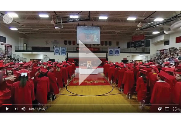 View a 360 Degree Graduation Video Online