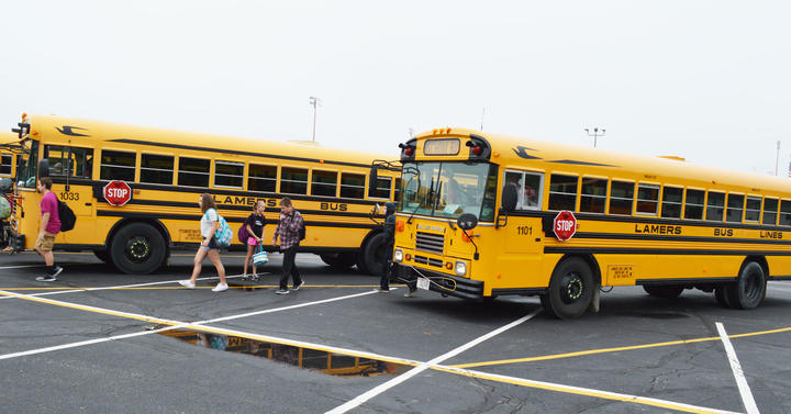 Buses at JRG