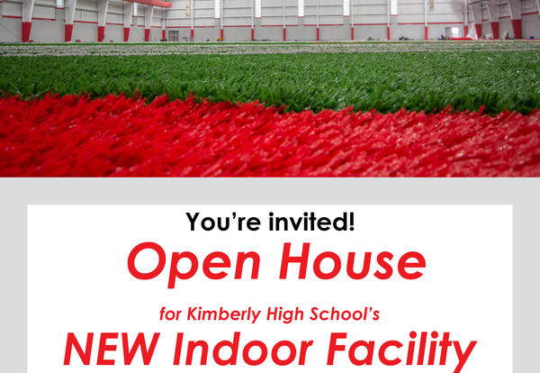 Open House for new Indoor Facility