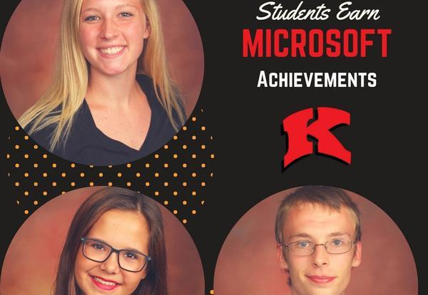 Students Earn Microsoft Accomplishments