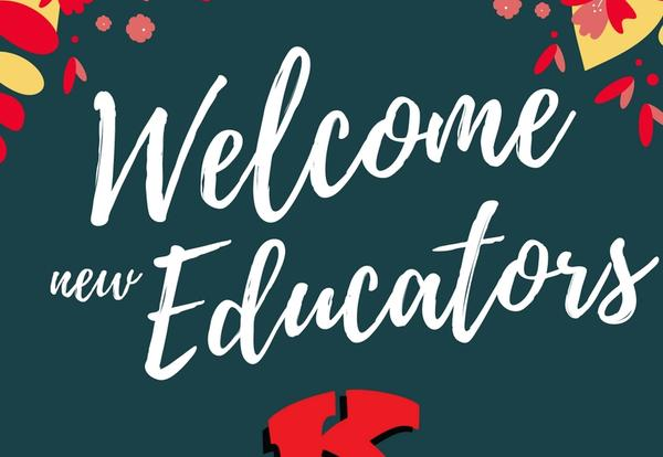 Welcome to our New Educators!