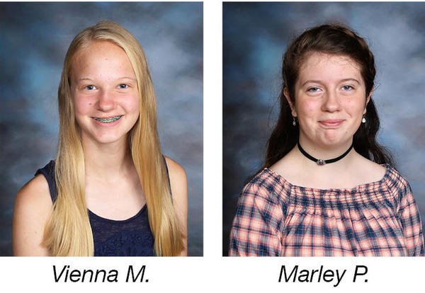 Two Students Recognized by Academic Talent Search