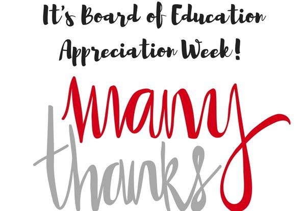Thank You to our Board of Education!