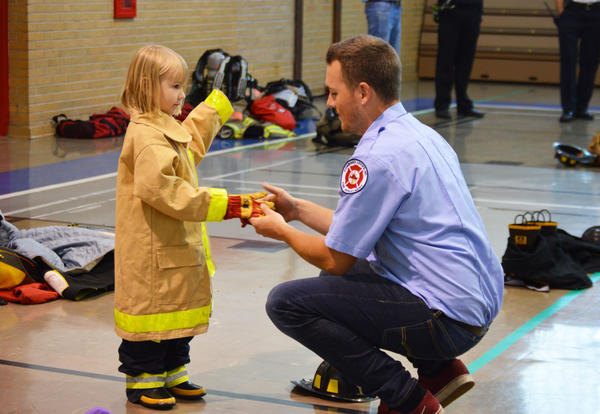 4K Students Learn about Fire Safety