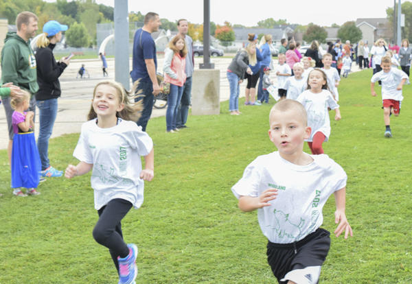 Successful Fun Run at Woodland School