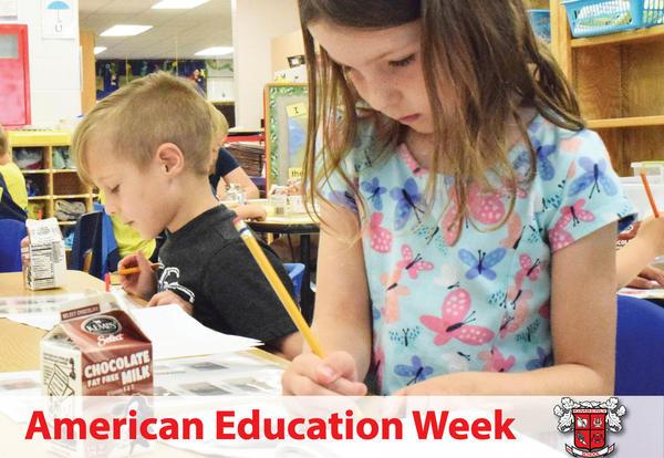 It is American Education Week, November 13-17, 2017!