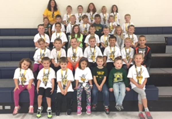 Westside Elementary School Runners Recognized