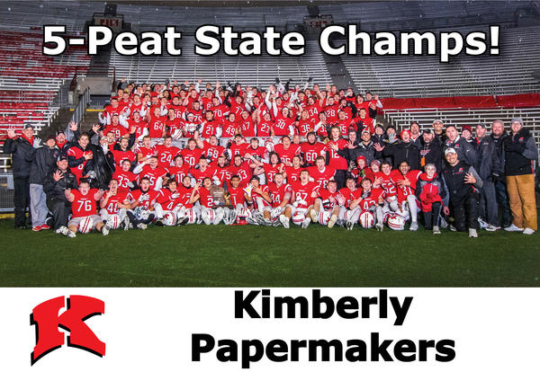 Football Team Brings Home State Championship